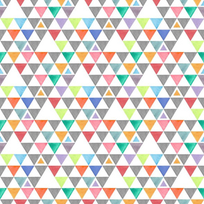 Small color Triangles