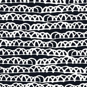 Black and White Doodles - Boho Lines