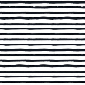 Black and White Doodles - Striped Lines