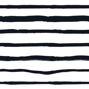 Black and White Doodles - Jumbo Striped Lines
