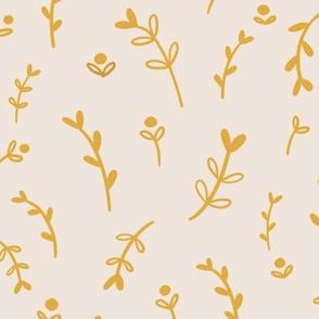 tiny stems gold