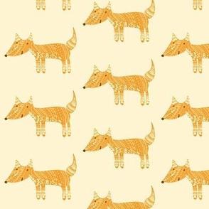 Detailed Fox Orange