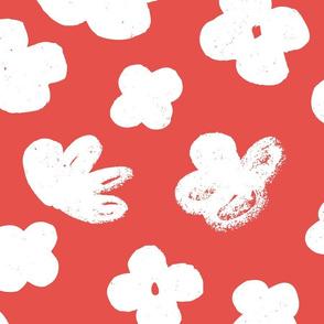 Big Flowers M+M Goji by Friztin