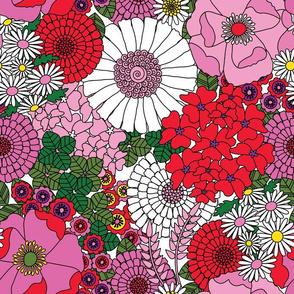 Vintage Floral Carnation