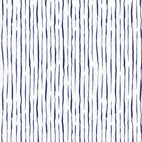 Indigo blue stripes white background