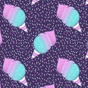 Cosmic Cotton Candy Pattern