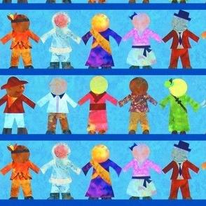 International Paper Dolls: A Celebration of Multiculturalism