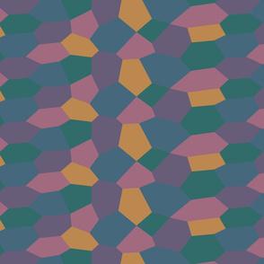 Sohm Lozenge Pattern Quarter Scale Light