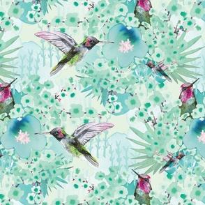 RK Designs Emerald Hummingbird
