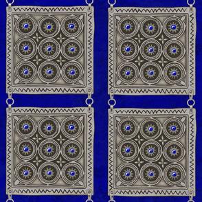 Amulet Square - Cobalt
