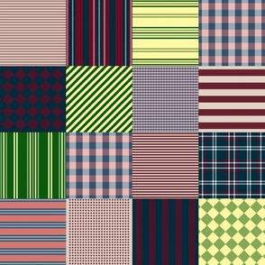 Nantucket Picnic Blanket ~ Cranberry & Brouillard, Theodora & Aegir,  Jonquille & 'Sconset, Miacomet & Faraway