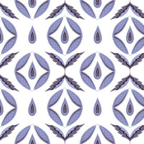 Botanical abstract. Scandinavian lavender