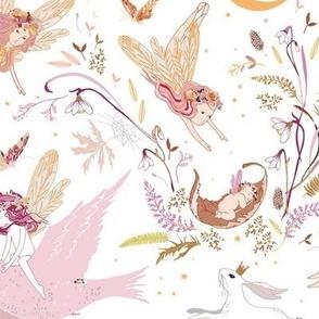 Enchanted Fairies (pink)