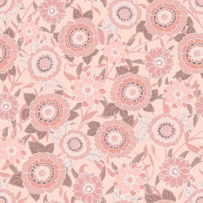 Victoria Floral Pink