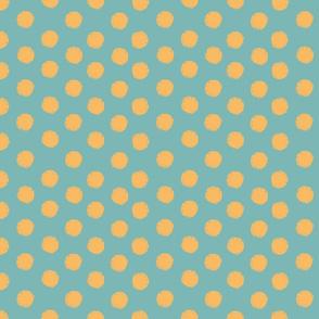 Sun polka dot