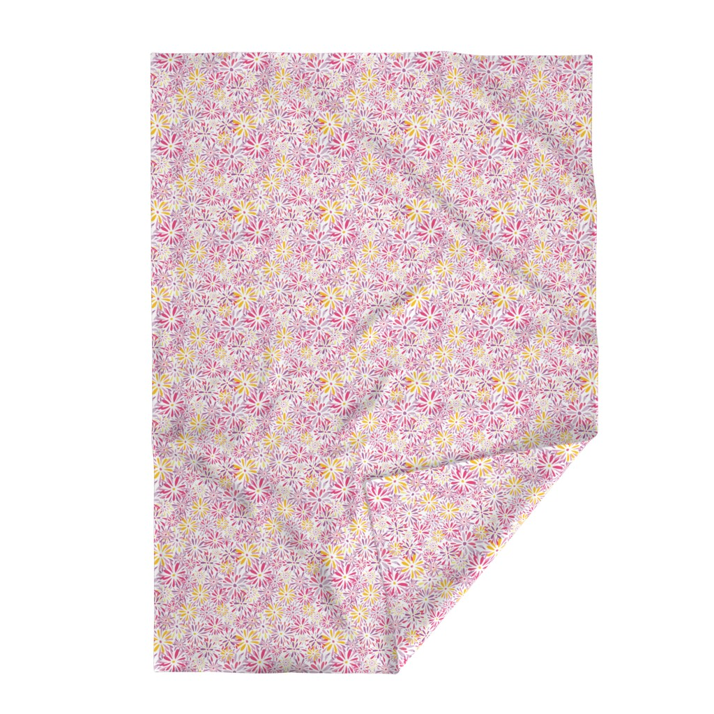 Lakenvelder Throw Blanket featuring 20190304_101a_SpringFlowerPower-04 by mlcwade