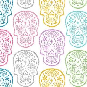 Sugar Skulls - Pastel