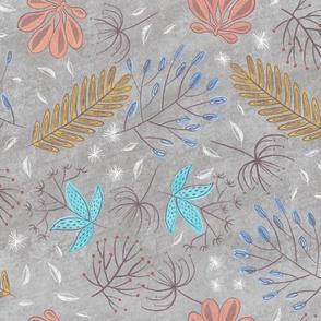 Woodland Seasons - Gray