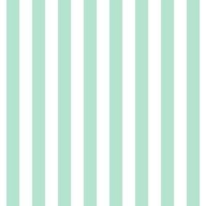 "stripes 1/2"" mint green vertical"