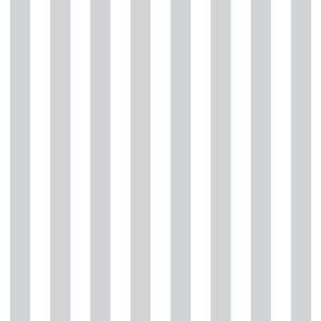 "stripes 1/2"" light grey vertical"