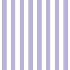 "stripes 1/2"" light purple vertical"