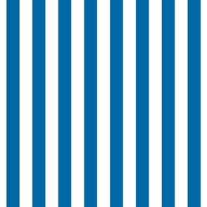 "stripes 1/2"" royal blue vertical"
