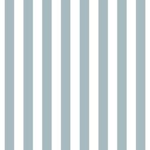 "stripes 1/2"" slate blue vertical"