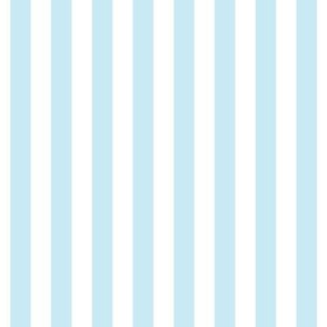 "stripes 1/2"" ice blue vertical"