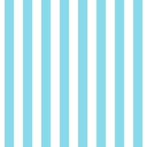 "stripes 1/2"" sky blue vertical"