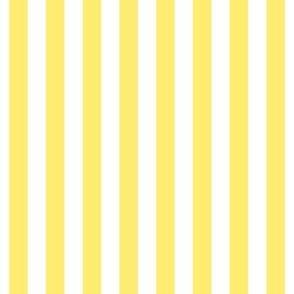 """stripes 1/2"""" lemon yellow vertical"""
