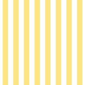 "stripes 1/2"" sunshine yellow vertical"
