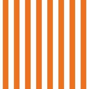 "stripes 1/2"" orange vertical"