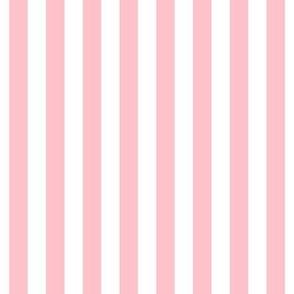 """stripes 1/2"""" light pink vertical"""