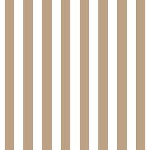 "stripes 1/2"" tan vertical"