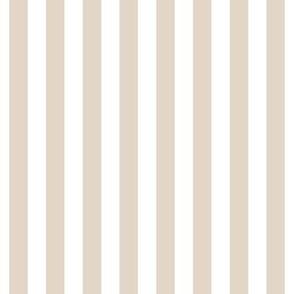 "stripes 1/2"" sand vertical"