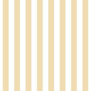 """stripes 1/2"""" creamy banana vertical"""