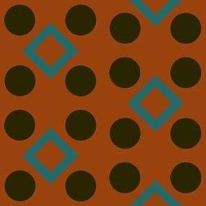 Four Square - Orange