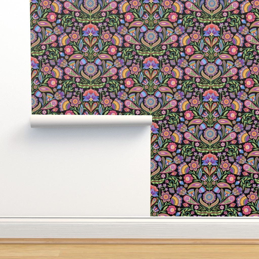 Isobar Durable Wallpaper featuring Maximal Folk by groovity
