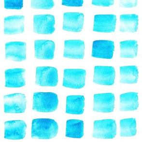 19-5AC Nautical Light Blue Watercolor Squares