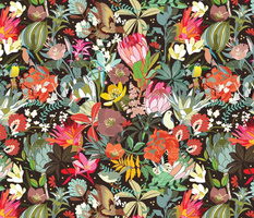 Floral maximalism