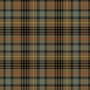"Stewart hunting tartan, 3"" weathered"