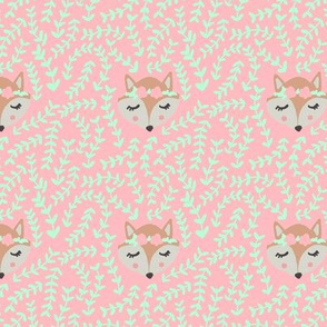 Flower Crown Fox