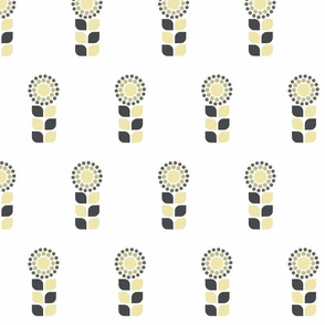 Neutral Flower Graphic