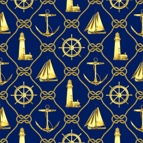 Gold Nautical