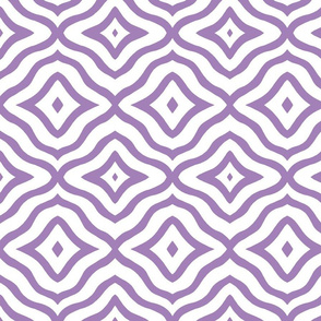 Purple triangle tiles
