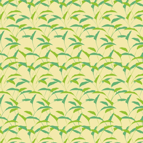 Echo of summer basic palm yellow
