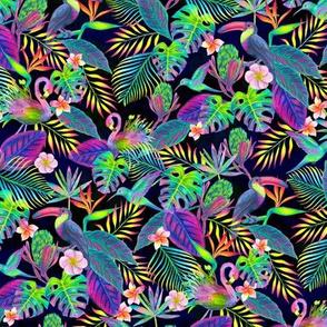 Abundant Neon Paradise - Small