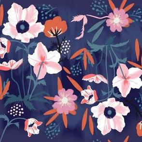 anemones night garden