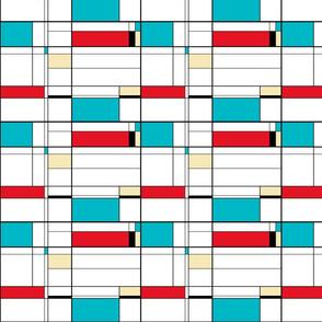 Colorblock Turquoise Dominate