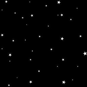Woollypetals Starry Eyed Black